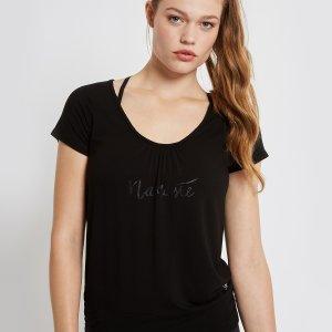 Yoga Namaste T-Shirt Malou Zwart