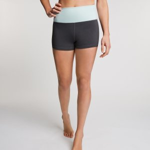 Donkergrijze Yoga Short Sara