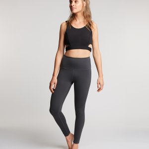 Donkergrijze Yoga Legging Lola
